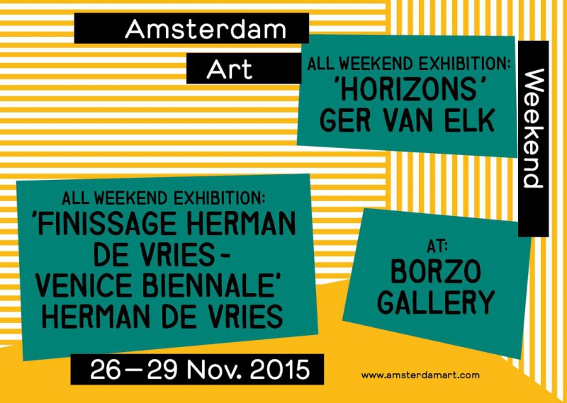 Amsterdam Art Weekend 2015