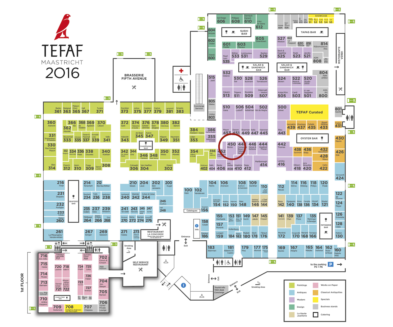FloorplanTEFAF2016