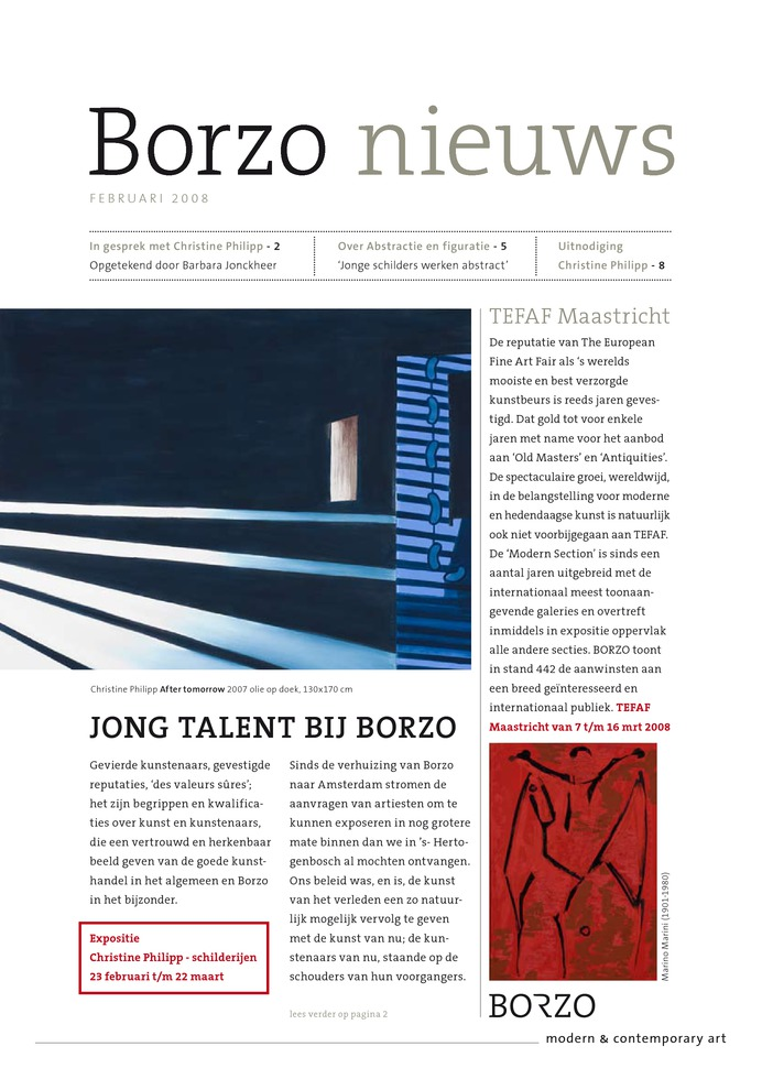 Lees het artikel over Borzo Publication | Newsletter 4