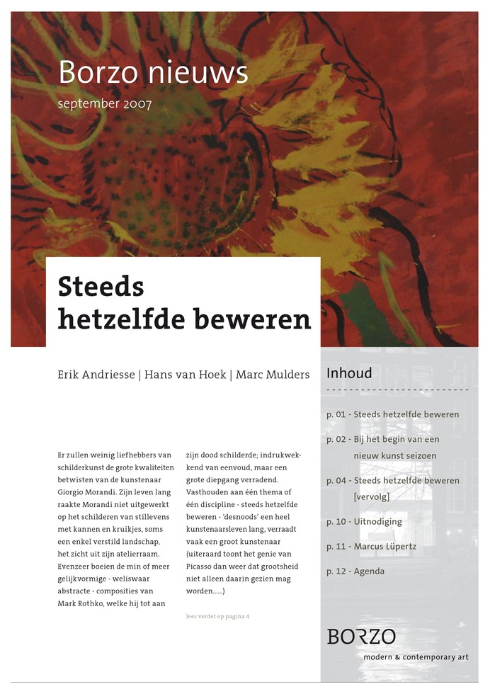 Lees het artikel over Borzo Publication | Newsletter 1